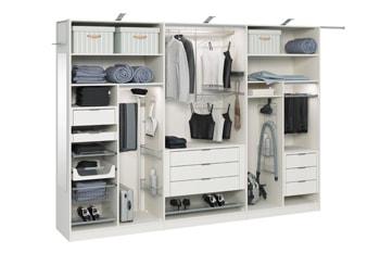 Схемы наполнения шкафов-купе - Модный шкаф