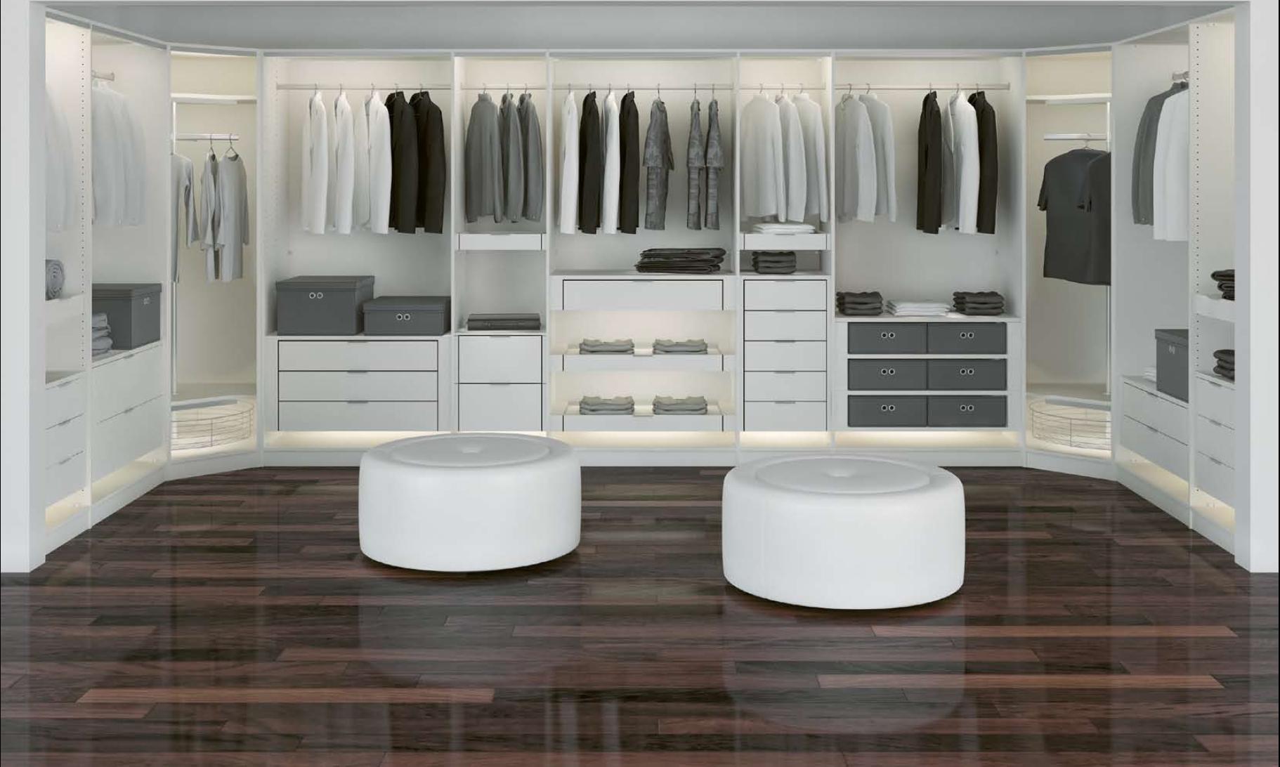 Гардеробная - это уникальная система хранения, с которой вы создадите место, где легко поддерживать порядок и сможете...